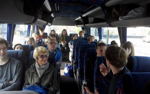 Autobus za uměním / Art Bus to Ústí nad Labem
