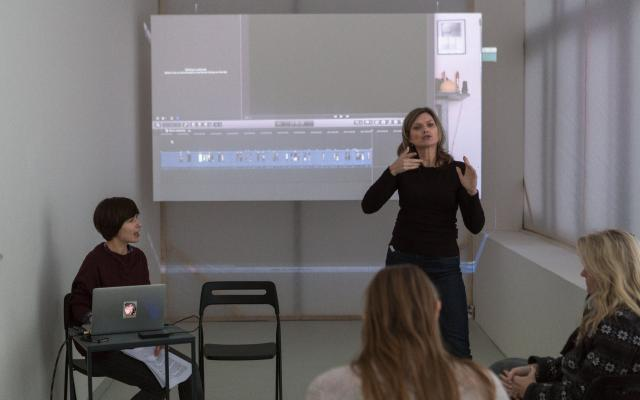 Video workshop pro neslyšící s umělkyní Alžbětou Bačíkovou