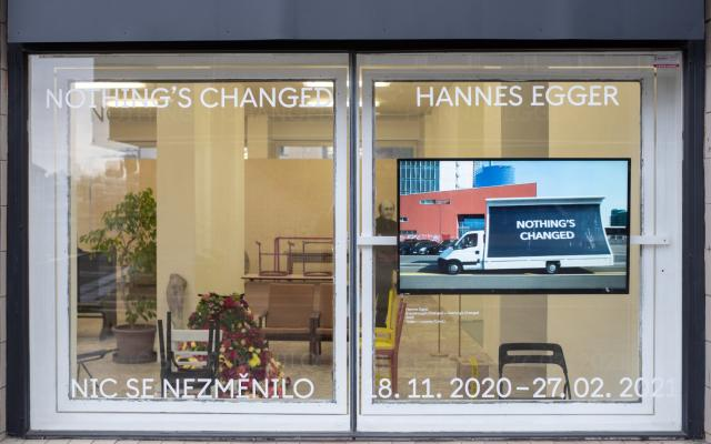 Hannes Egger: Everything´s Changed — Nothing´s Changed