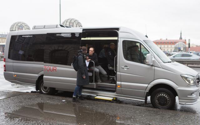 Kunst bus — minibusem k nám za uměním